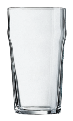 20 ounce Nonic Beer Glass