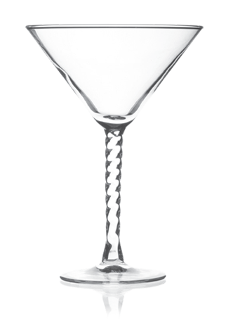 Angelique Martini Glass