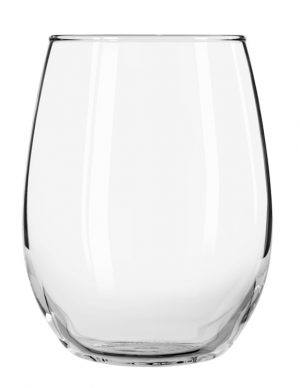 15 oz Libbey Stemless Wine Glass