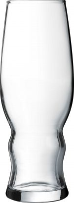 a 16 ounce Medford Beer Glass